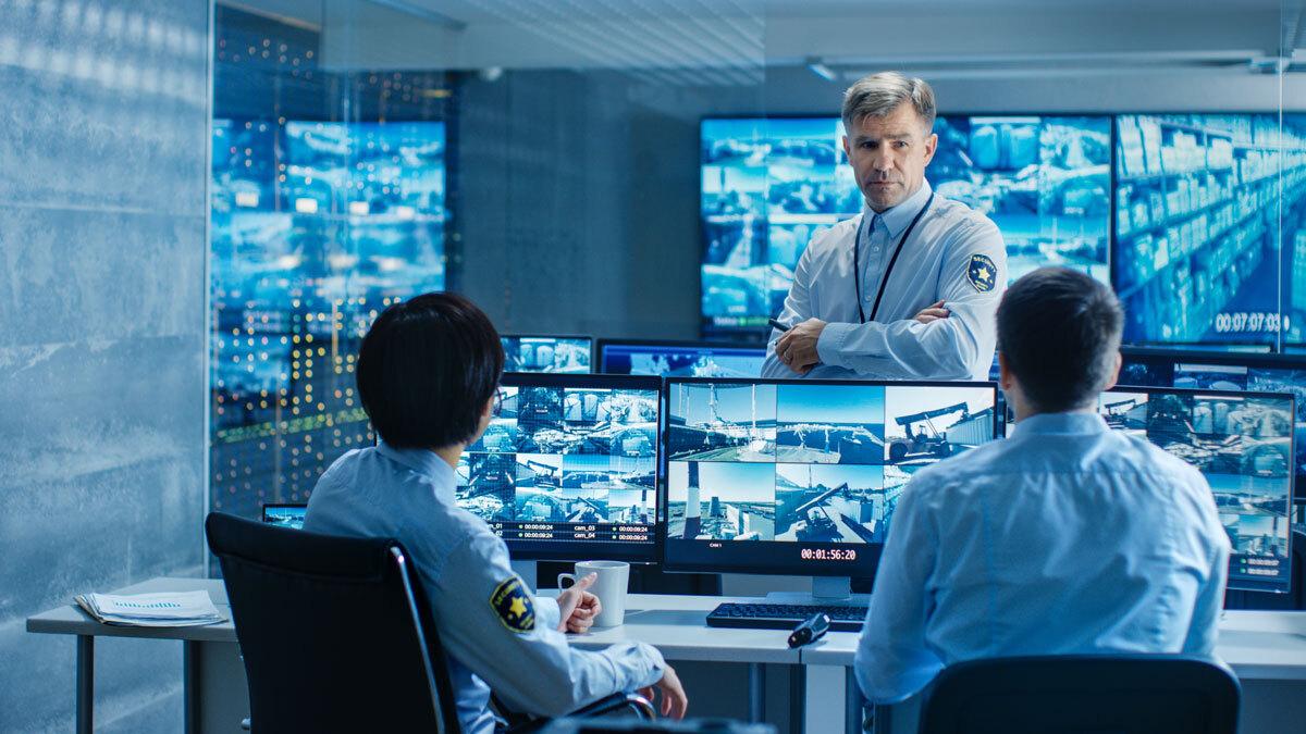 Security-Guard-Control-Room